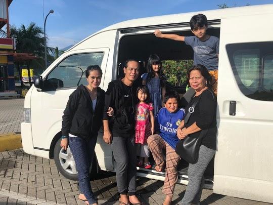 Pay dari Band Rock SLANK mempercayakan layanan Agra Rental untuk liburan ke Bali