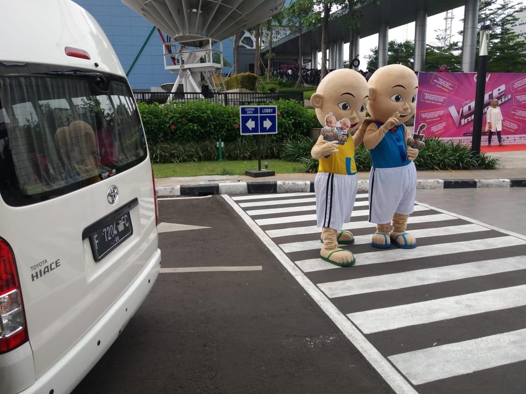 Sewa Hiace Temani Kunjungan Upin & Ipin ke Jakarta